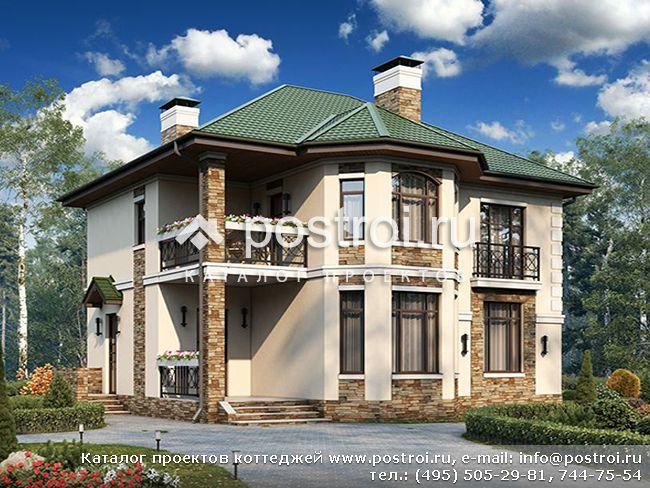 Крыши двухэтажных домов фото
